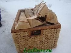 заказ дров загружаем для перевозки